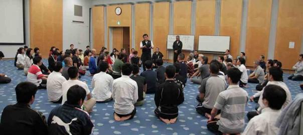 2015年5月大阪 宇城憲治 体験型講習会