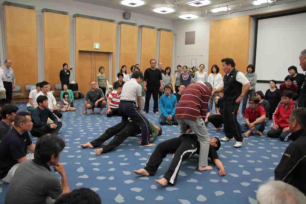 2015年5月 大阪 宇城憲治 体験型講習会