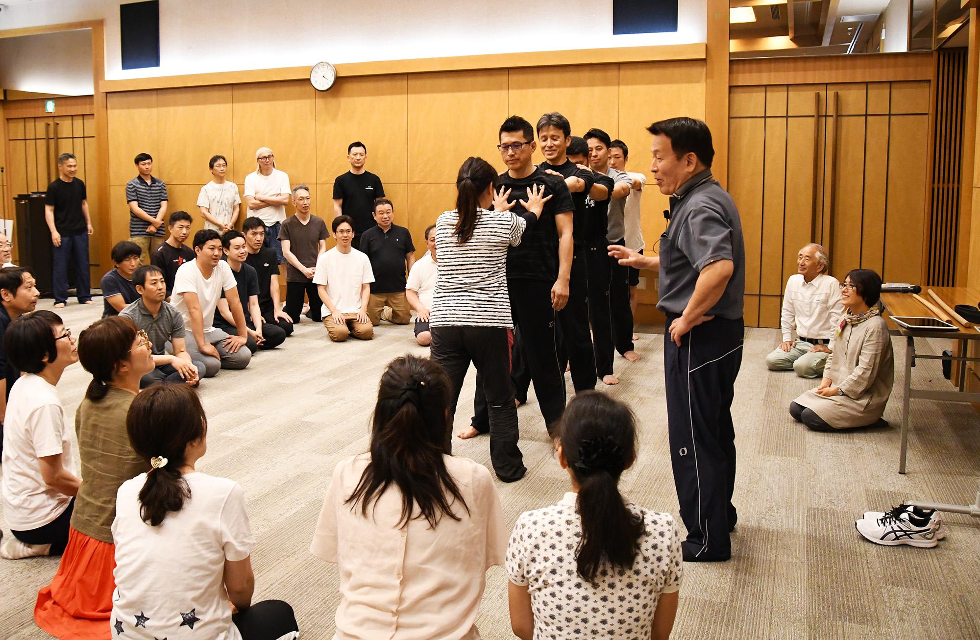 2020年11月〈東京〉 宇城憲治 体験講習会